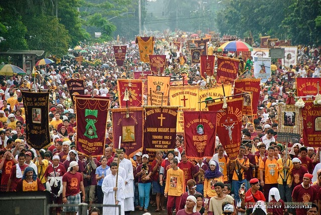 Feast of Black Nazarene procession 2015