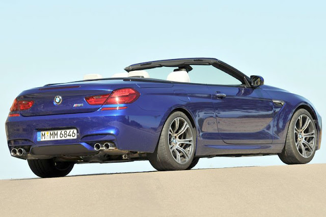 2013 BMW M6 Convertible Back Exterior Rear View