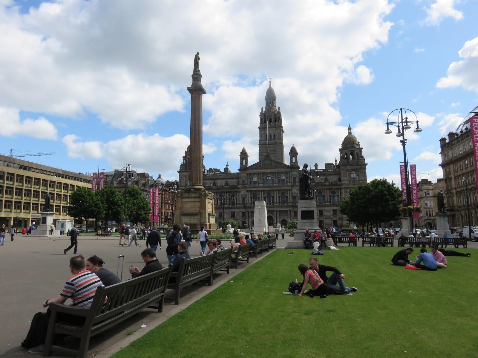Viajar glasgow escocia el centro hist rico for Oficina de turismo de escocia