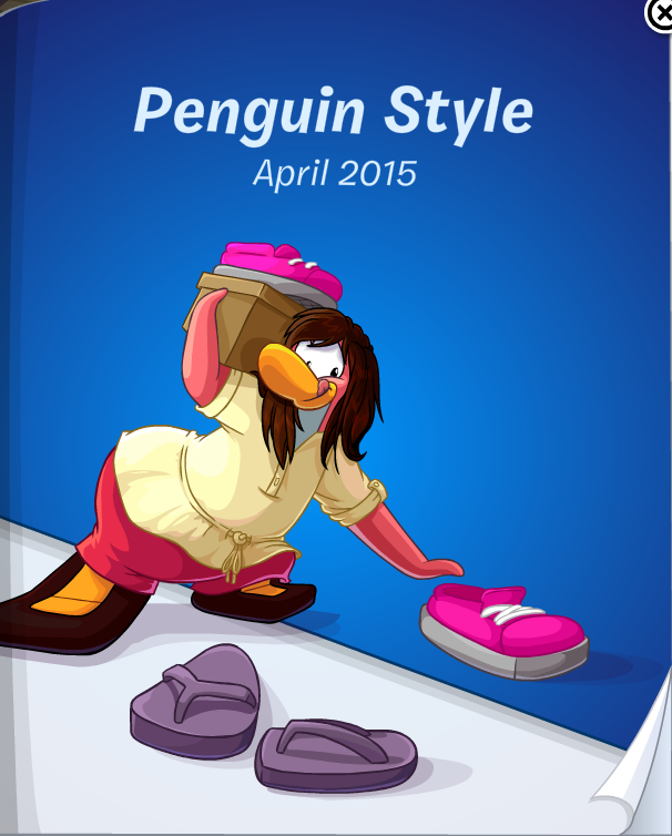 Club Penguin Penguin Style Catalog Cheats April 2015