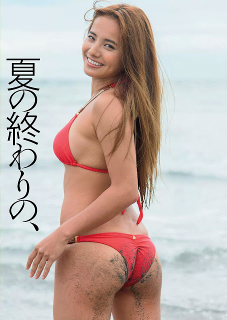 Sano Chiaki 佐野千晃 Weekly Playboy Sept 2015 Pics