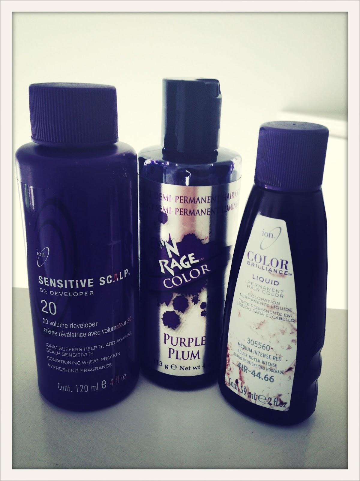 DSK Steph DIY Hair Color Burgundy Plum