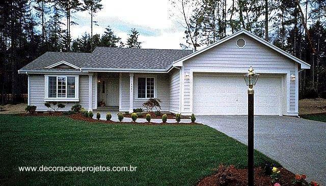 Arquitectura de casas las casas americanas modernas - Fotos de casas americanas ...