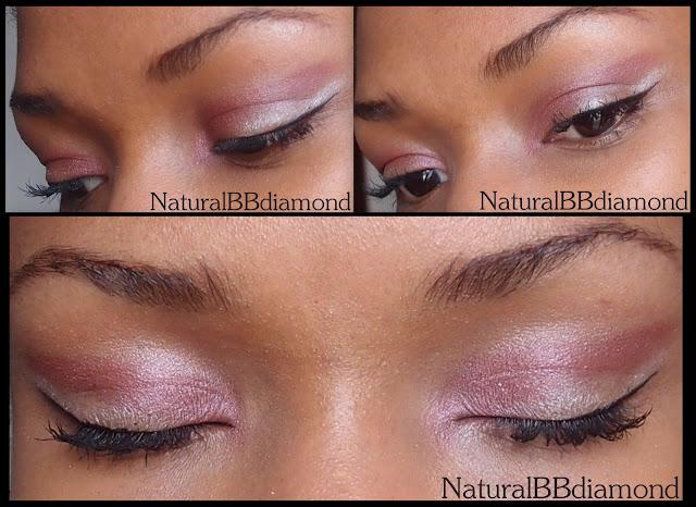 maquillage yeux de biches en rouge bordeaux beautiful naturelle. Black Bedroom Furniture Sets. Home Design Ideas