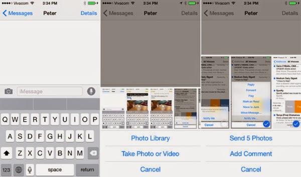 Khám phá những tính năng mới của hệ điều hành iOS 8