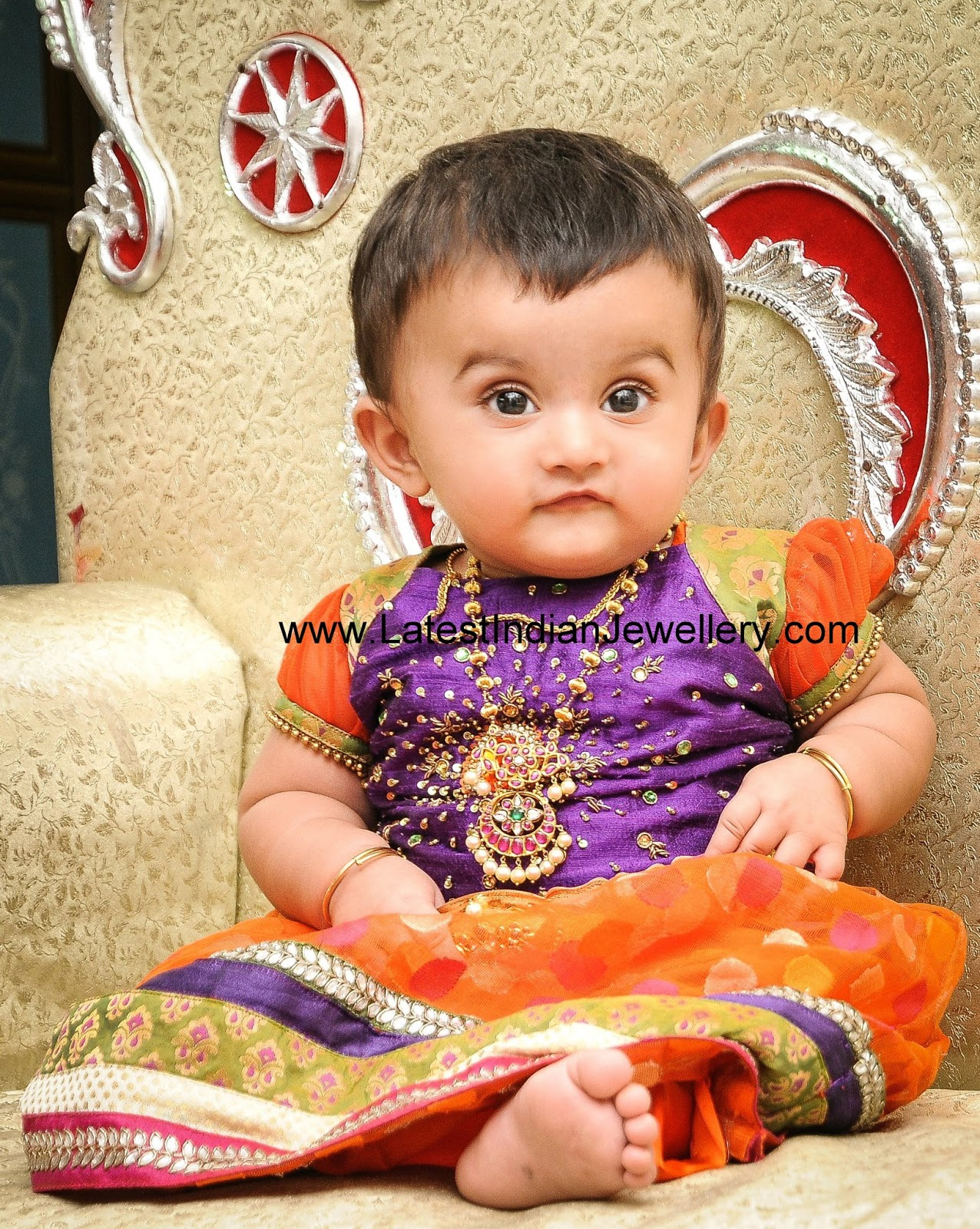Cute Gold Baby Jewellery