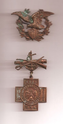 Spanish War Veterans Medal belonging to John Fleming Walsh
