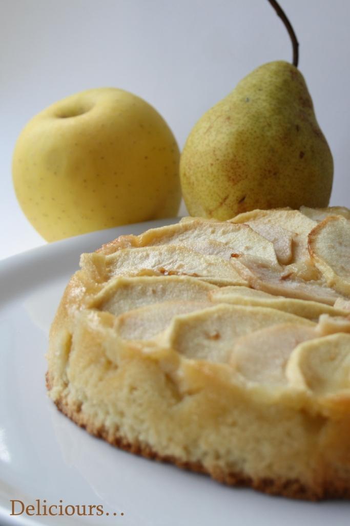 deliciours fondant 224 la p 226 te d amande pomme et poire