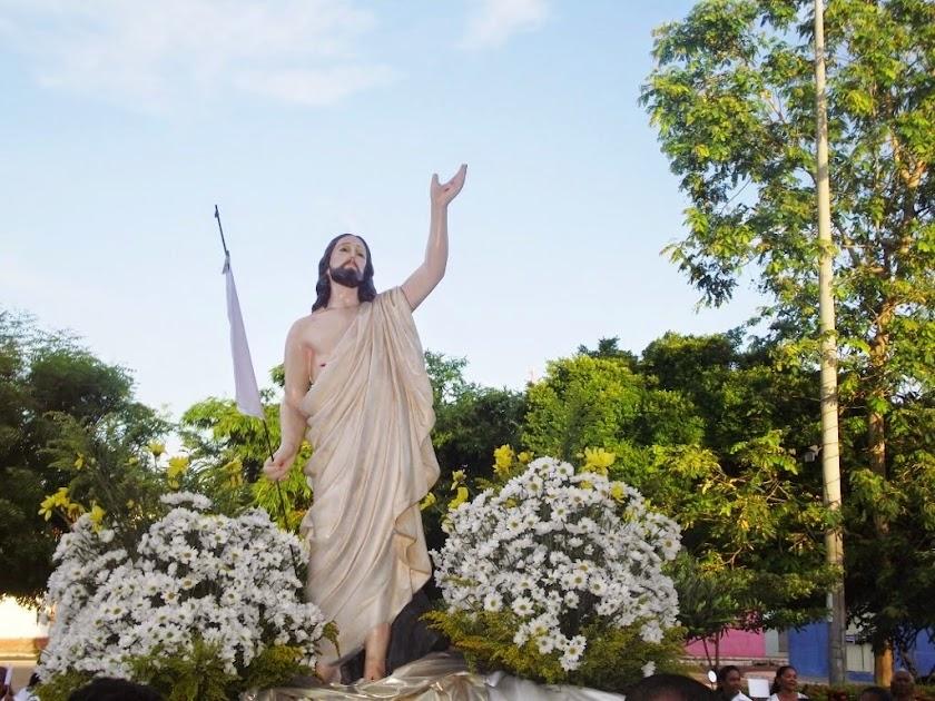 IMAGEM DO CRISTO RESSUSCITADO DA PARÓQUIA SANT'ANA