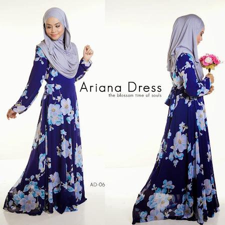 Ariana Dress ni pasti menceriakan hari anda dengan warna dan design yang menarik.