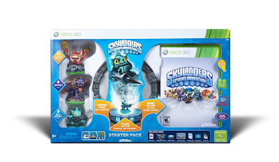 This is a Skylanders Starter Kit, featuring heroes and the stand