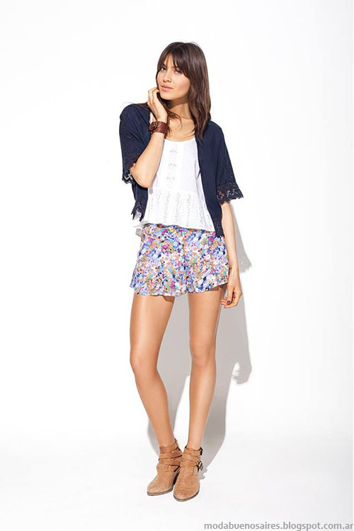 Moda faldas cortas primaver verano 2015.