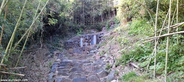 Lugar donde fue asesinada Arang en Miryang