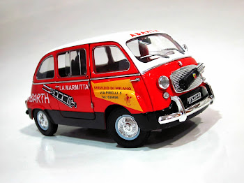 """FIAT 600D Multipla """"La Marmitta - ABARTH"""" '64 - La Mini Miniera / Premium ClassiXXs / Unique Replic"""