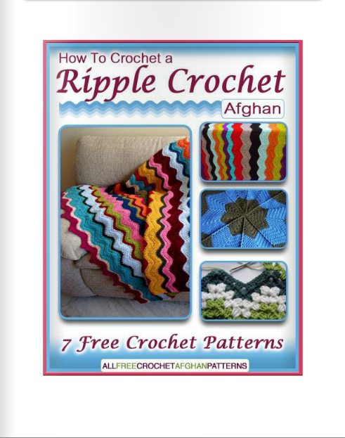 Crochet Stitches Online : ... Books Online- How to Crochet a Ripple Crochet Afghan 7 Patterns