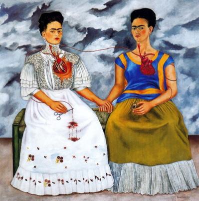 Frida Kahlo Las+dos+Fridas