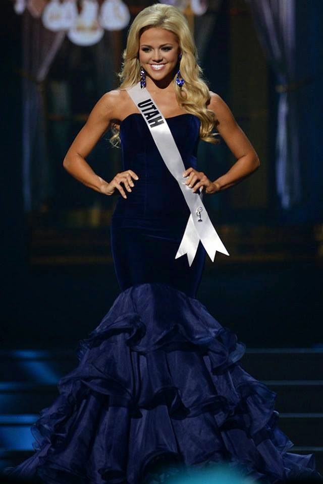 SASHES AND TIARAS.....Miss USA 2014 Preliminaries Evening Gowns Part ...