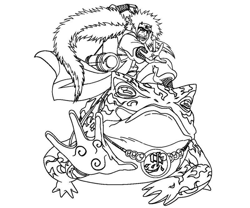 Jiraiya coloring pages for Jiraiya coloring pages