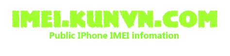 Public Checked IMEI Infomation | Check in Blackist | Check lost/stolen
