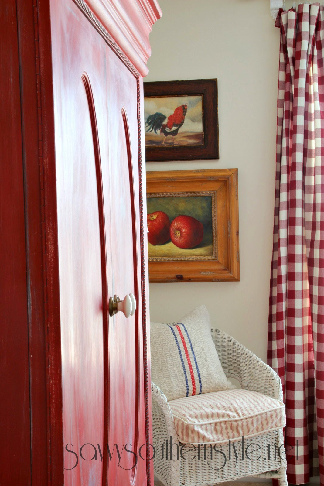 Savvy southern style farmhouse style guestroom spring 2014 for Farmhouse guest bedroom