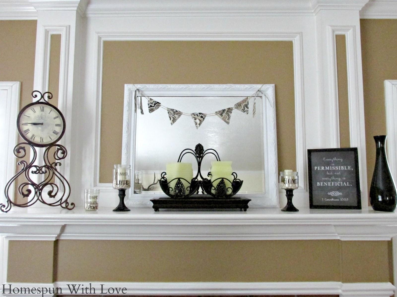 Homespun With Love Home Decor Black White Summertime