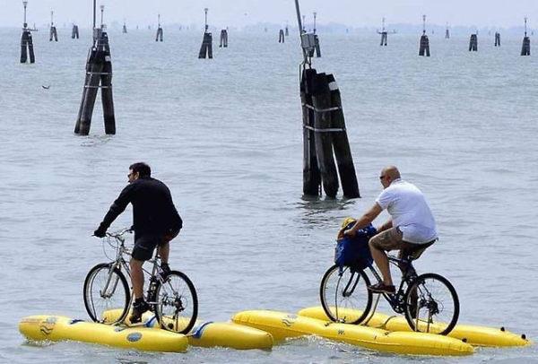 Bike+Riding+On+Water