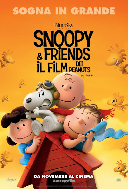 Snoopy and Friends Peanuts Film recensione poster