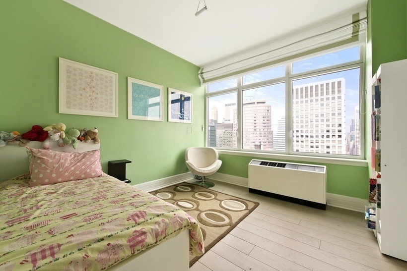 Bedroom in Wolf of Wall Street Manhattan Apartment