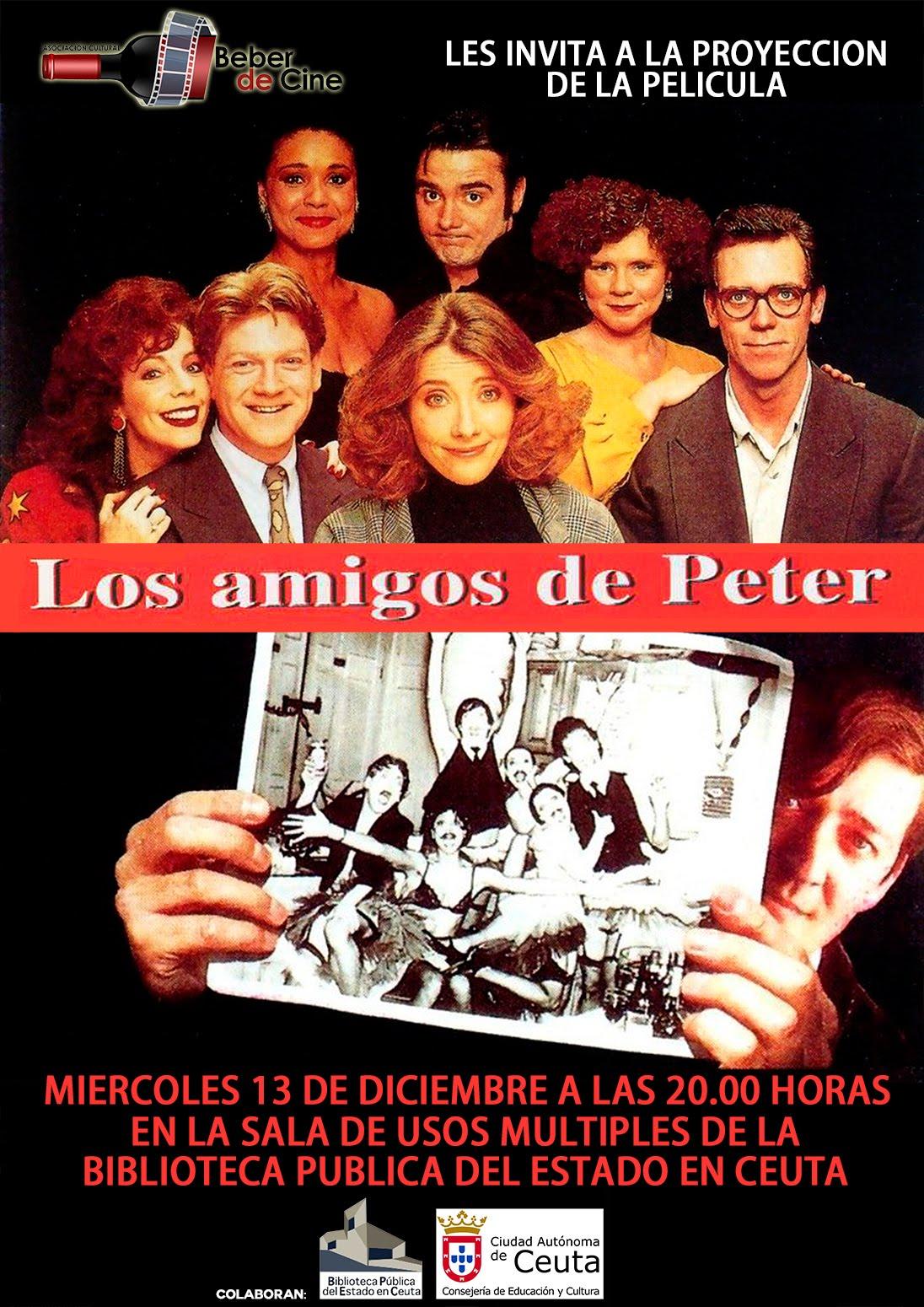 13 dic LOS AMIGOS DE PETER