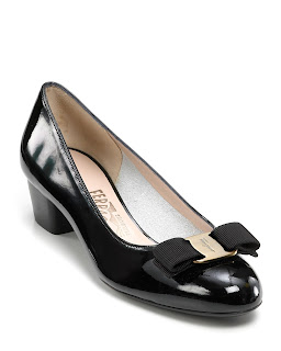 Ferragamo iconic vara heels shoes