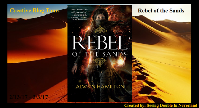 Creative Blog Tour: Rebel of the Sands