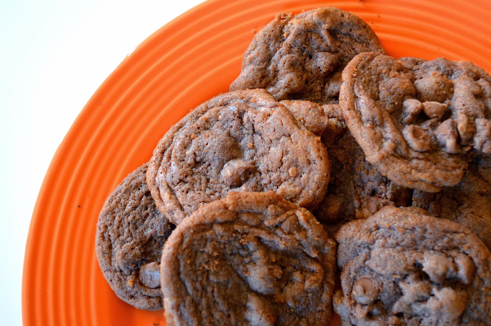 hazel and company: Double Chocolate Chip Pudding Cookies