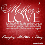 . heart felt HAPPY MOTHERS DAY to any an all MOM'S who frequent or stumble .