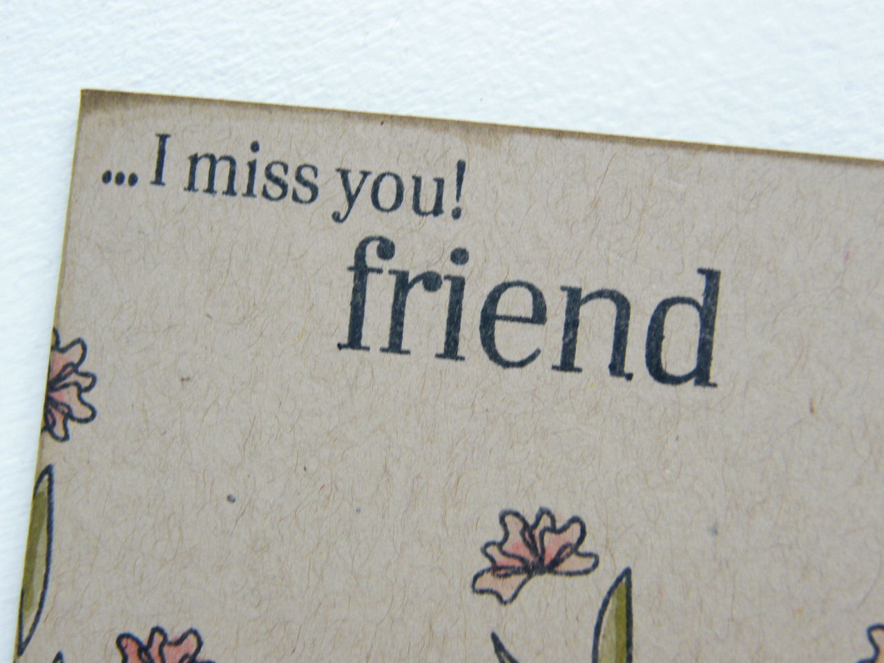 Friendship Quotes I Will Miss You : Funny pictures gallery miss you friend my
