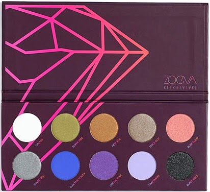 Zoeva - Retro Future Eyeshadow Palette