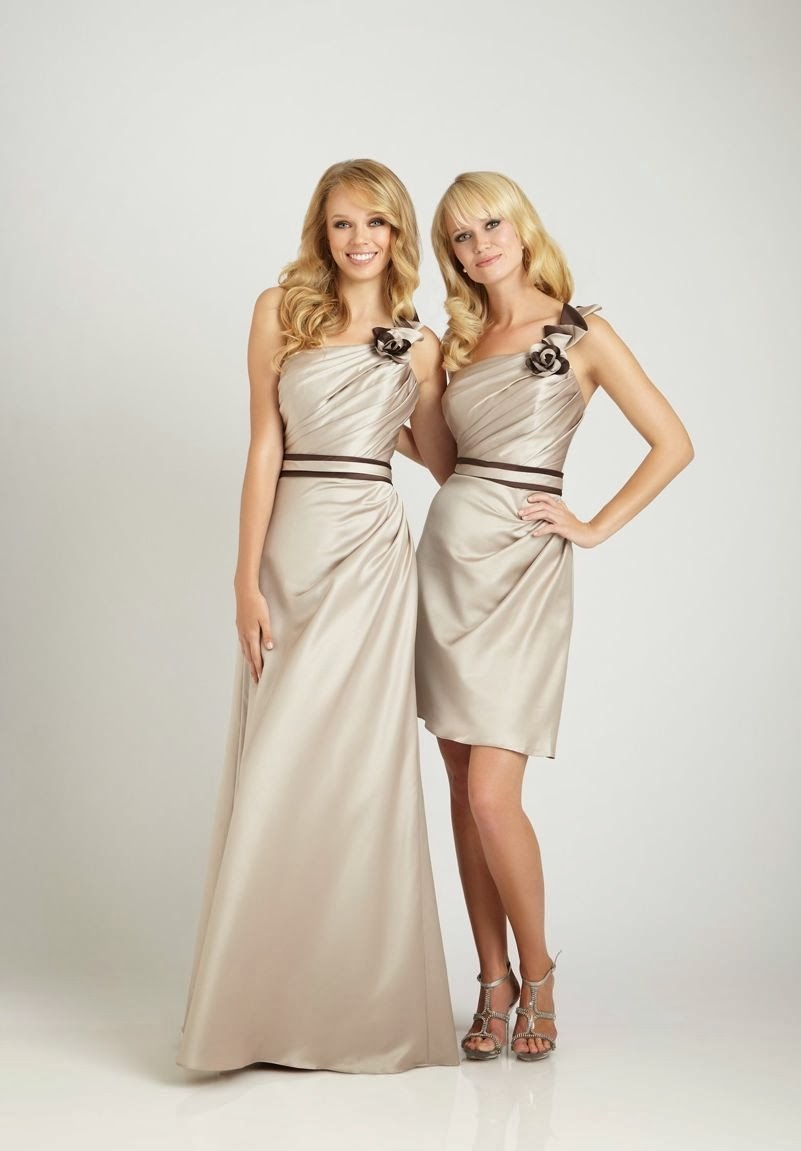 Whiteazalea bridesmaid dresses november 2013 satin one shoulder a line shortlong bridesmaid dress ombrellifo Image collections