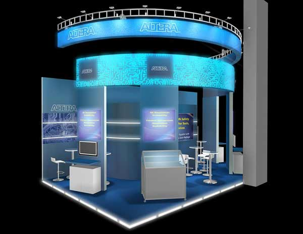Modern Exhibition Stand Years : Exhibition stand design news and