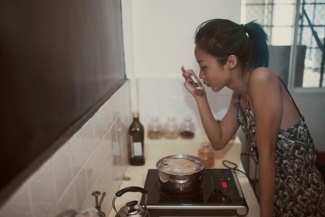 Rapper cho biết, cô nấu ăn khá giỏi