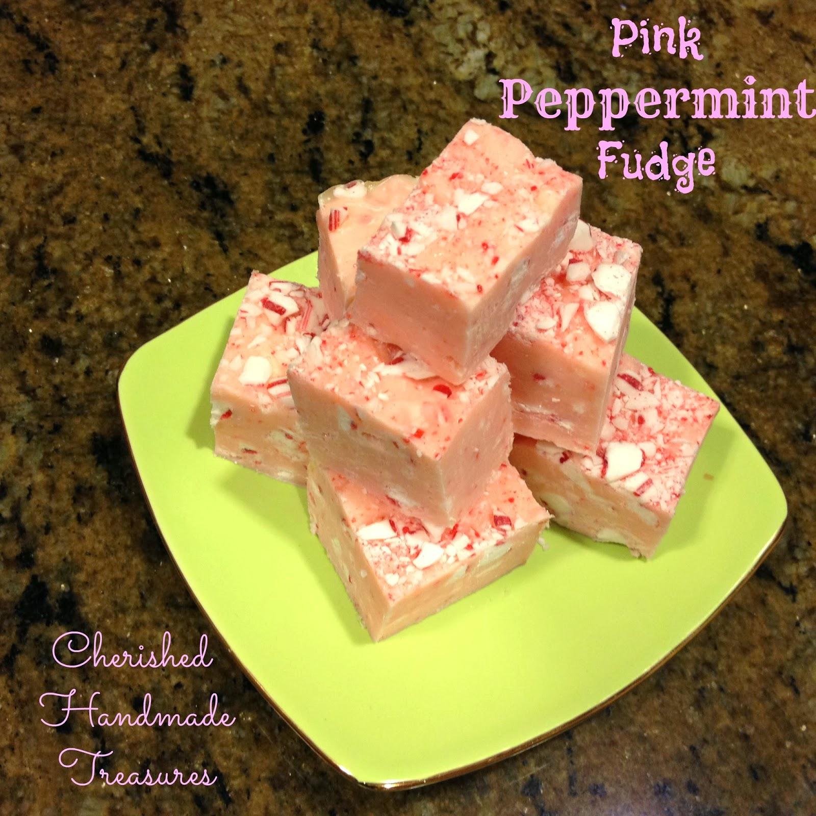 Vanilla Peppermint Fudge Recipe — Dishmaps