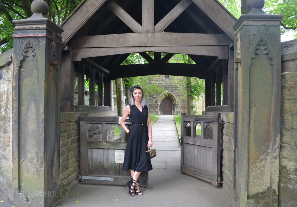 Wear Black to A Wedding - M&Co Jumpsuit