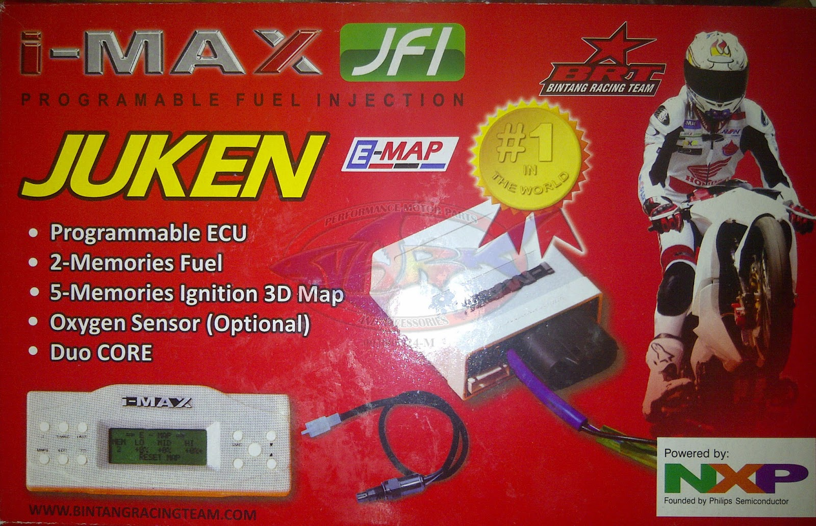 New BRT I-MAX JUKEN Programmable ECU - Fuel Injection for Yamaha
