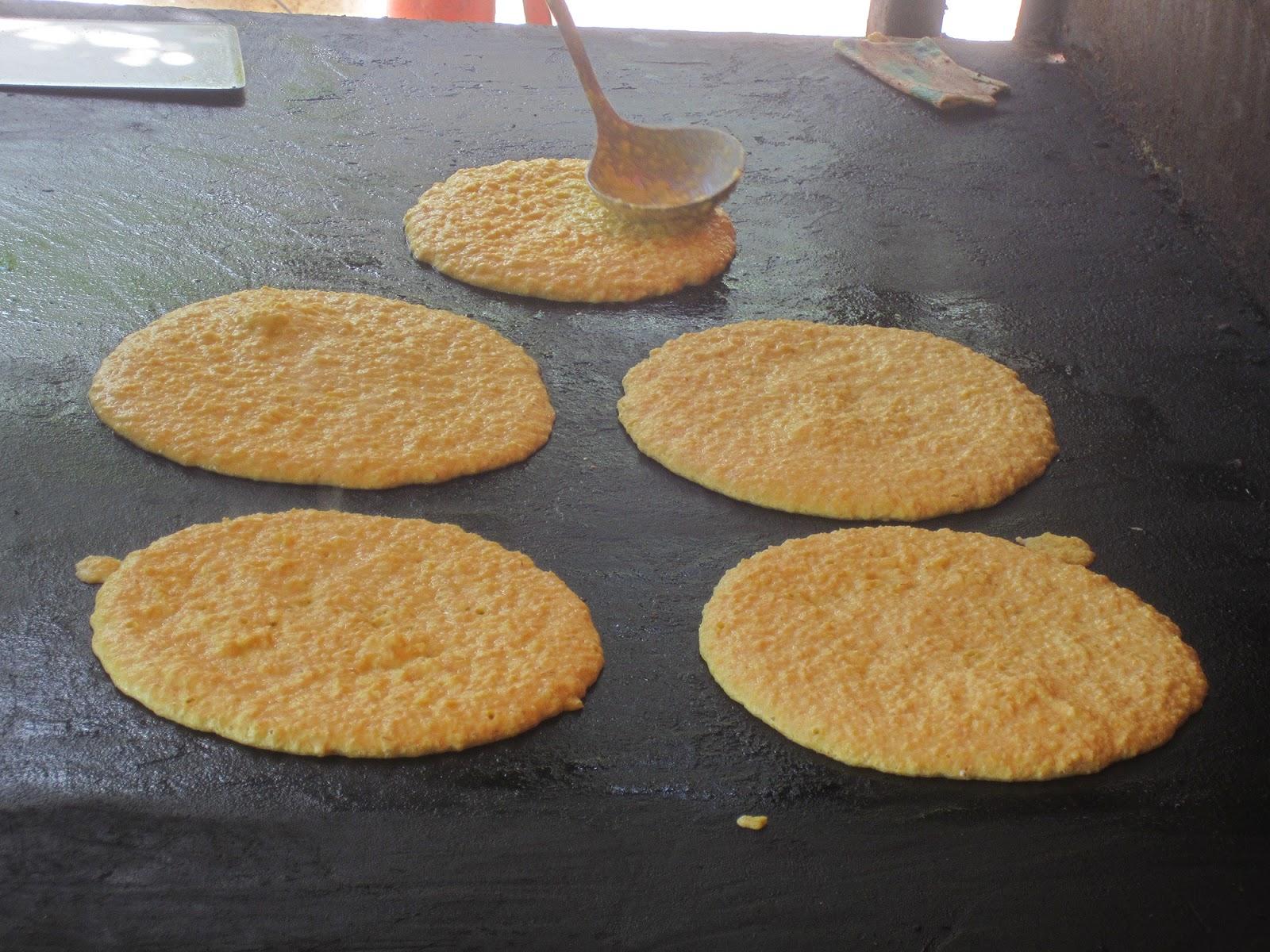 Cachapas con queso  AdeFotos