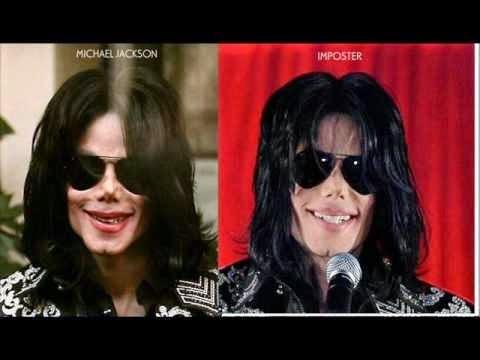 Michael Jackson y un impostor