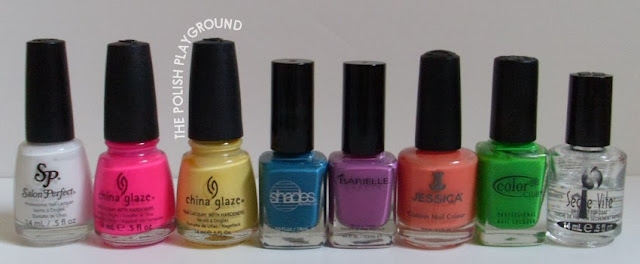 Salon Perfect, China Glaze, Barielle, Jessica, Color Club, Seche Vite