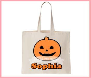 Halloween Pumpkin Tote