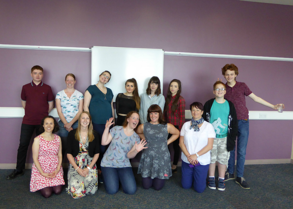 Bloggers at Premier Inn Edinburgh Improv Comedy Workshop
