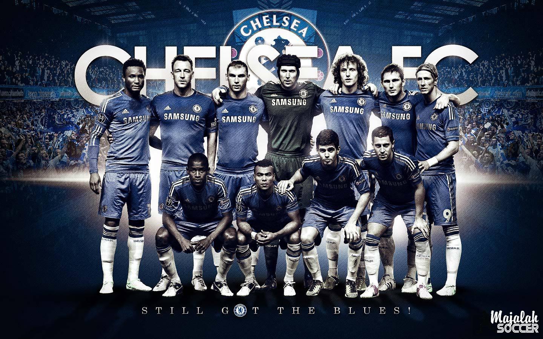 Wallpaper Skuad Chelsea Sepakbola Terbaru 2012-2013 (Edisi 7 Tgl 5