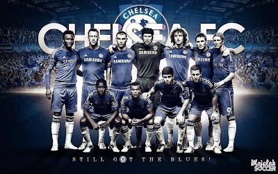 Wallpaper Skuad Chelsea Sepakbola Terbaru 2012-2013 (Edisi 7 Tgl 5 Oktober 2012)