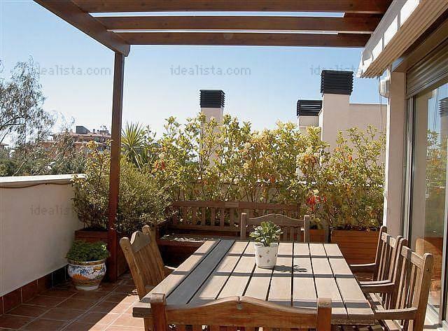 Fotos de terrazas terrazas y jardines terrazas de casas for Modelos de ceramicas para terrazas