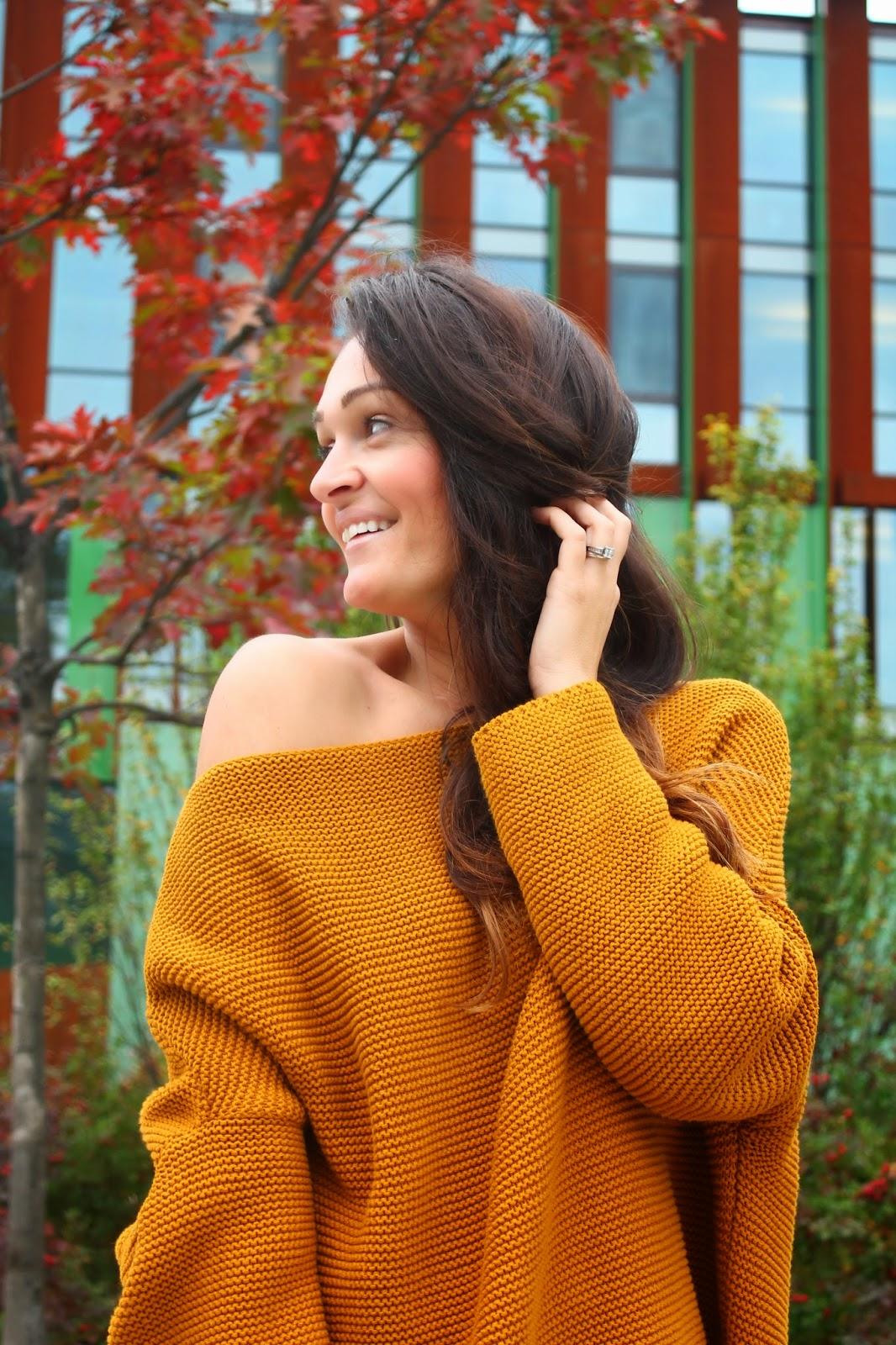 Oversized sweater, zara sweater, fall trend, fall sweater, blogerke, dzemper, toronto fashion blogger, toronto street style